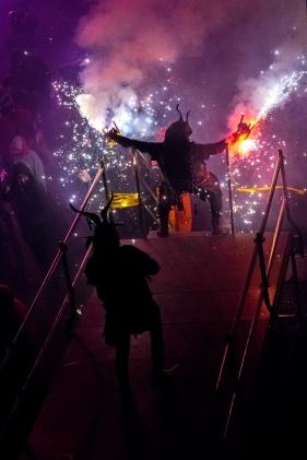 San Antonio celebration in Palma de Mallorca.