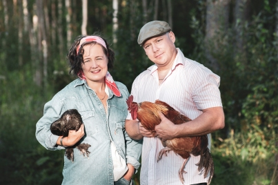 Chicken farmers