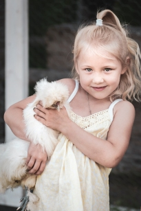 Chicken farmer´s daughter.