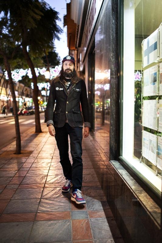 Jesse työskentelee Fuengirolassa ja asuu Malagassa